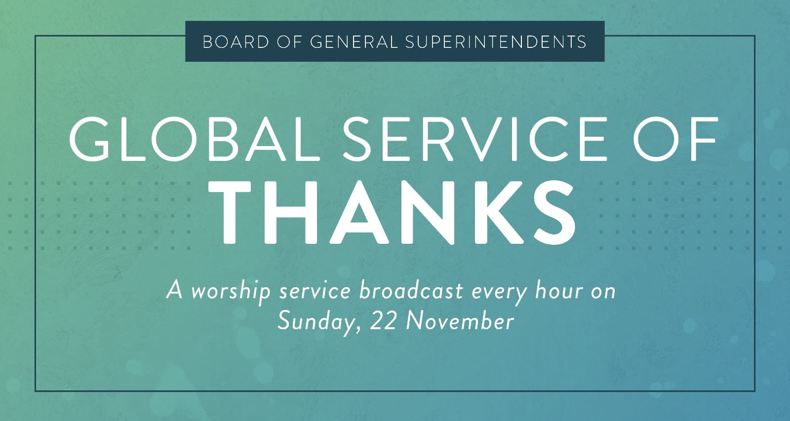 Global Service of Thanks