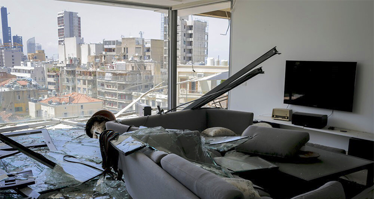 Lebanon Damge