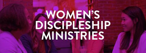 women's discipleship ministries