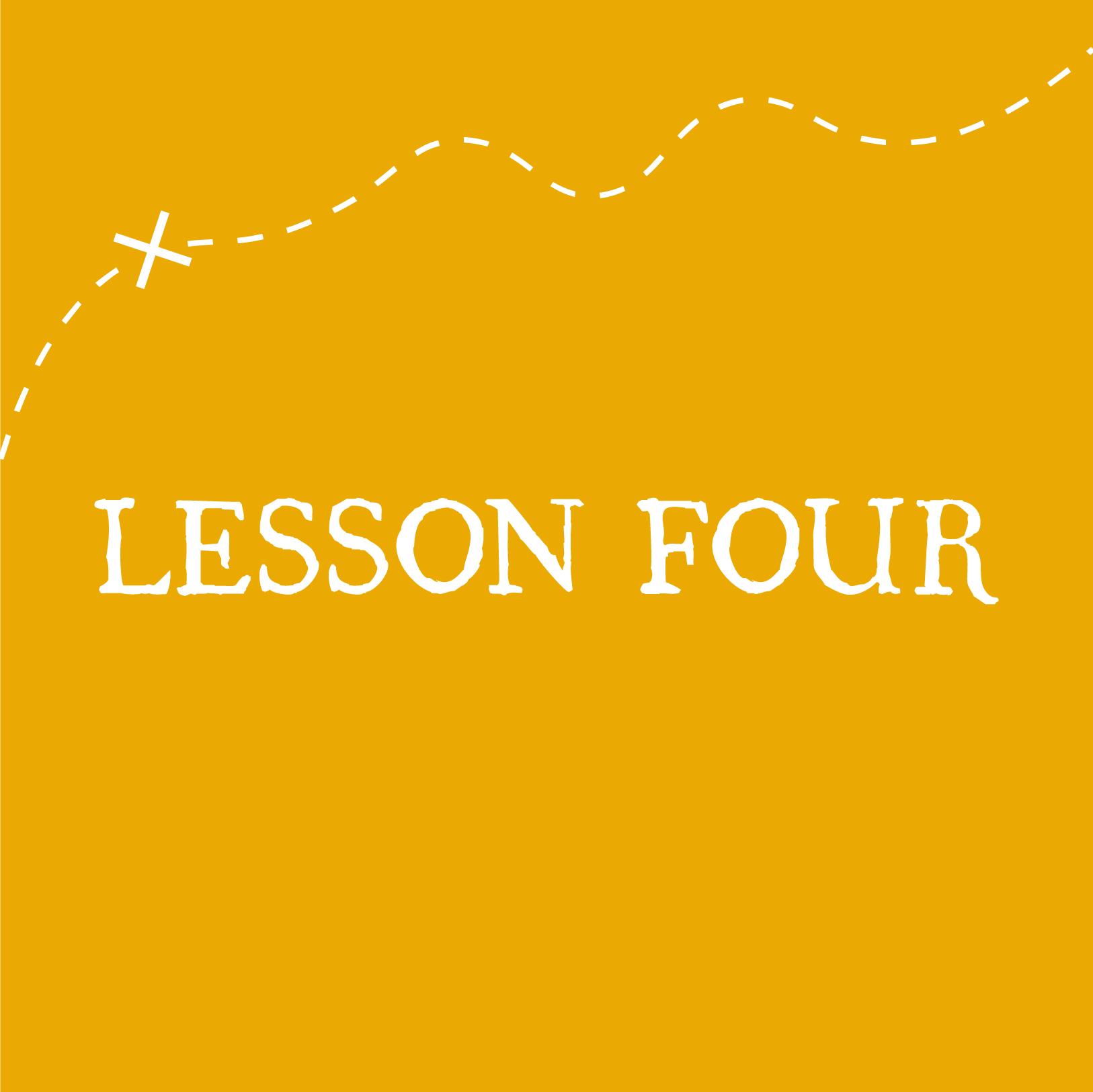 VBS Lesson 4