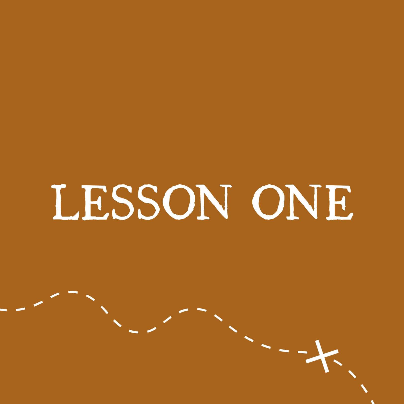 VBS Lesson 1