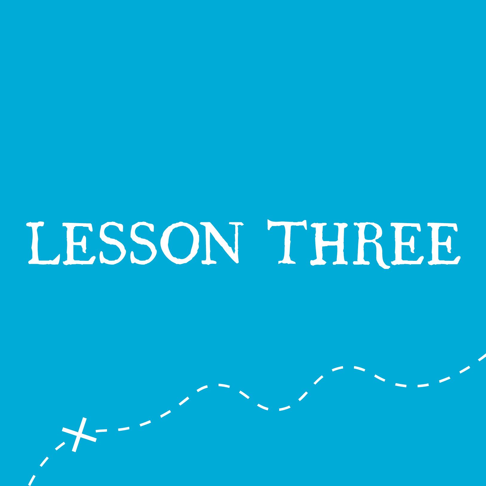 VBS Lesson 3