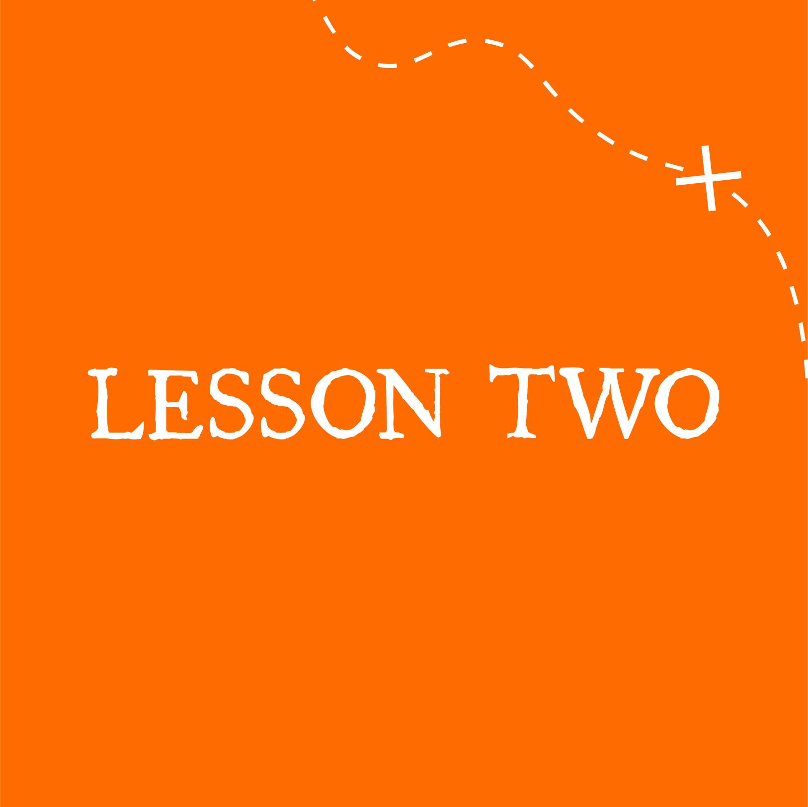 VBS Lesson 2
