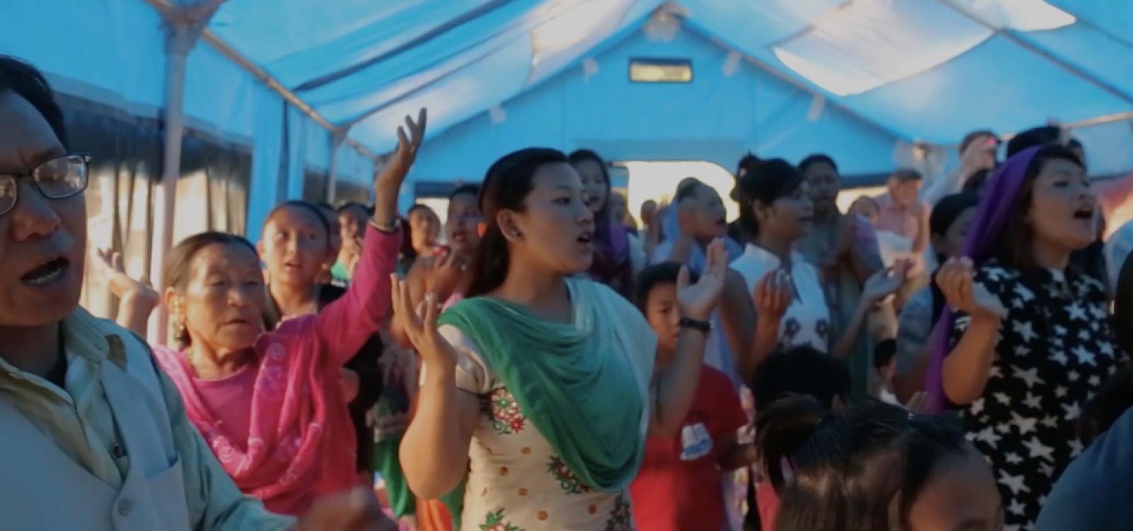 Missões Nazarenas: Promessa de Fé. Versão para Líderes header