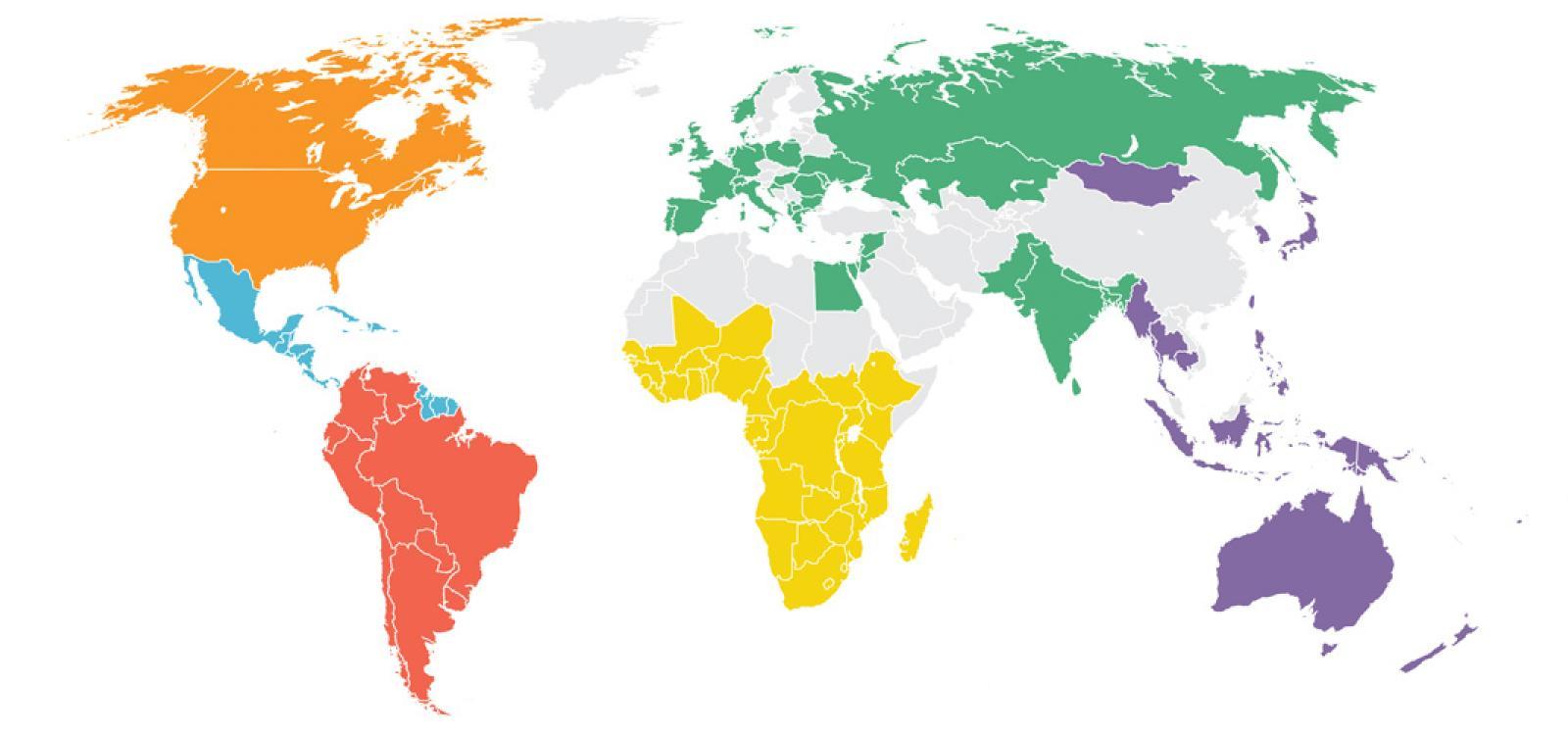 World Region Maps