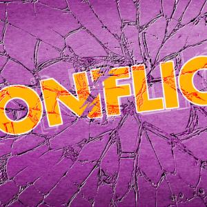 Conflict title slide
