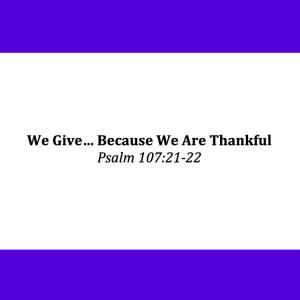 give-cause-thankful