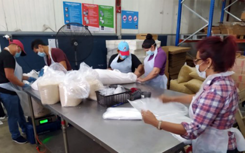 Panama Food Bank Help