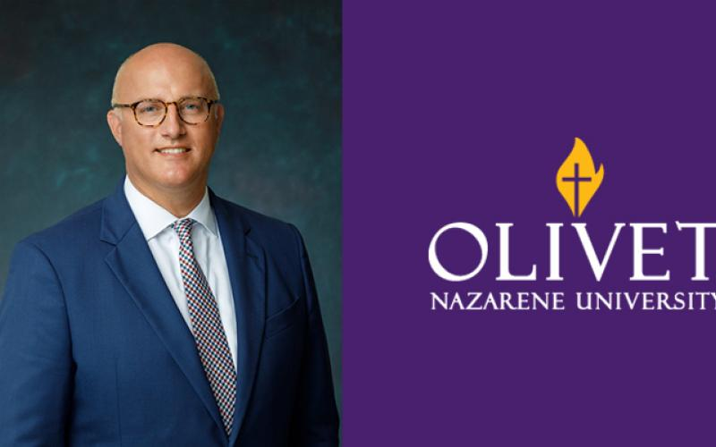 Olivet President Correct Colors