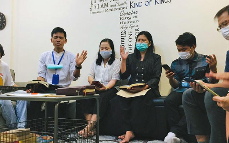 Thailand prayer vigil