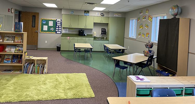 Classroom of Shawnee Nazarene Academy